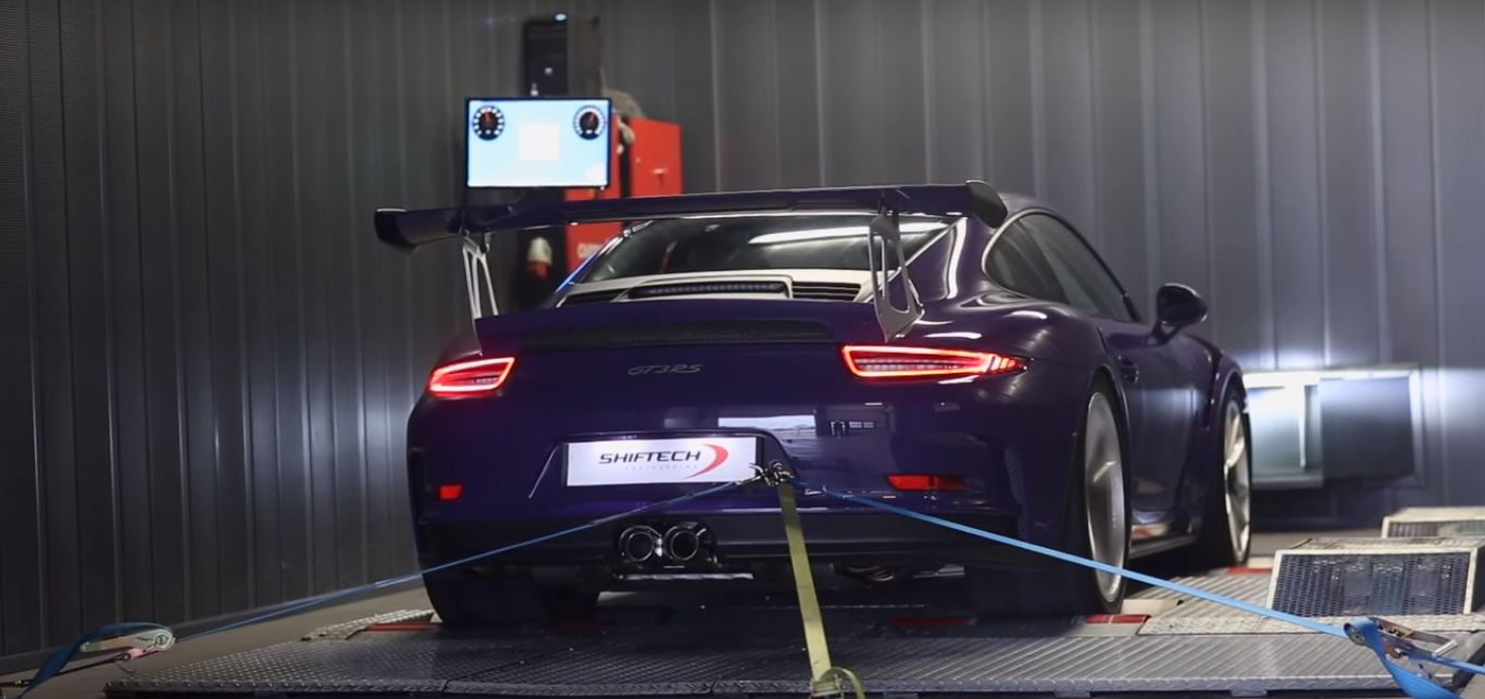 porsche 911 gt3 rs pdk with ipe exhaust hits the dyno. Black Bedroom Furniture Sets. Home Design Ideas