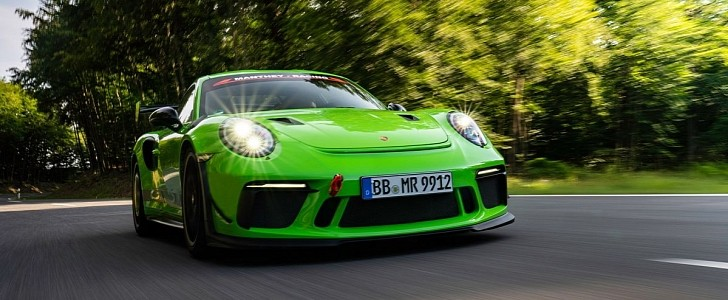 Porsche 911 GT3 RS Receives A Performance Boost from Manthey Racing