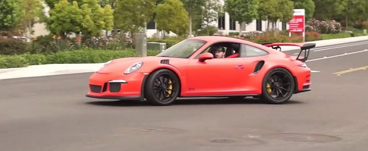 Porsche 911 Gt3 Rs Sounds Like An Even Wilder Track Animal
