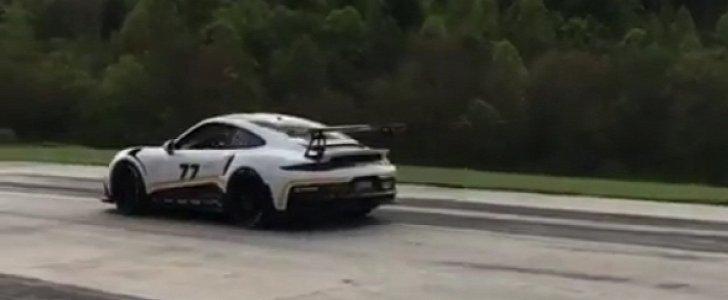 Porsche 911 Gt3 Rs Vs 918 Spyder Launch Control