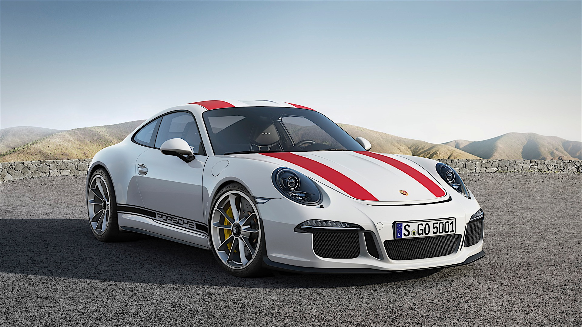 2017 Porsche 911 R Officially Revealed Only 991 Units Will Be Made