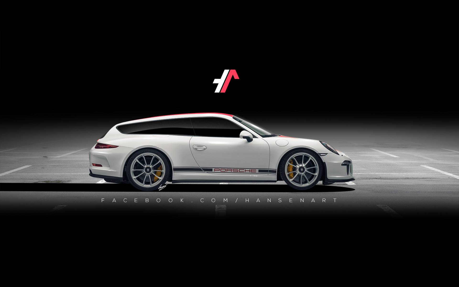 Porsche 911 R Shooting Brake Rendering Shows Why The 911 R