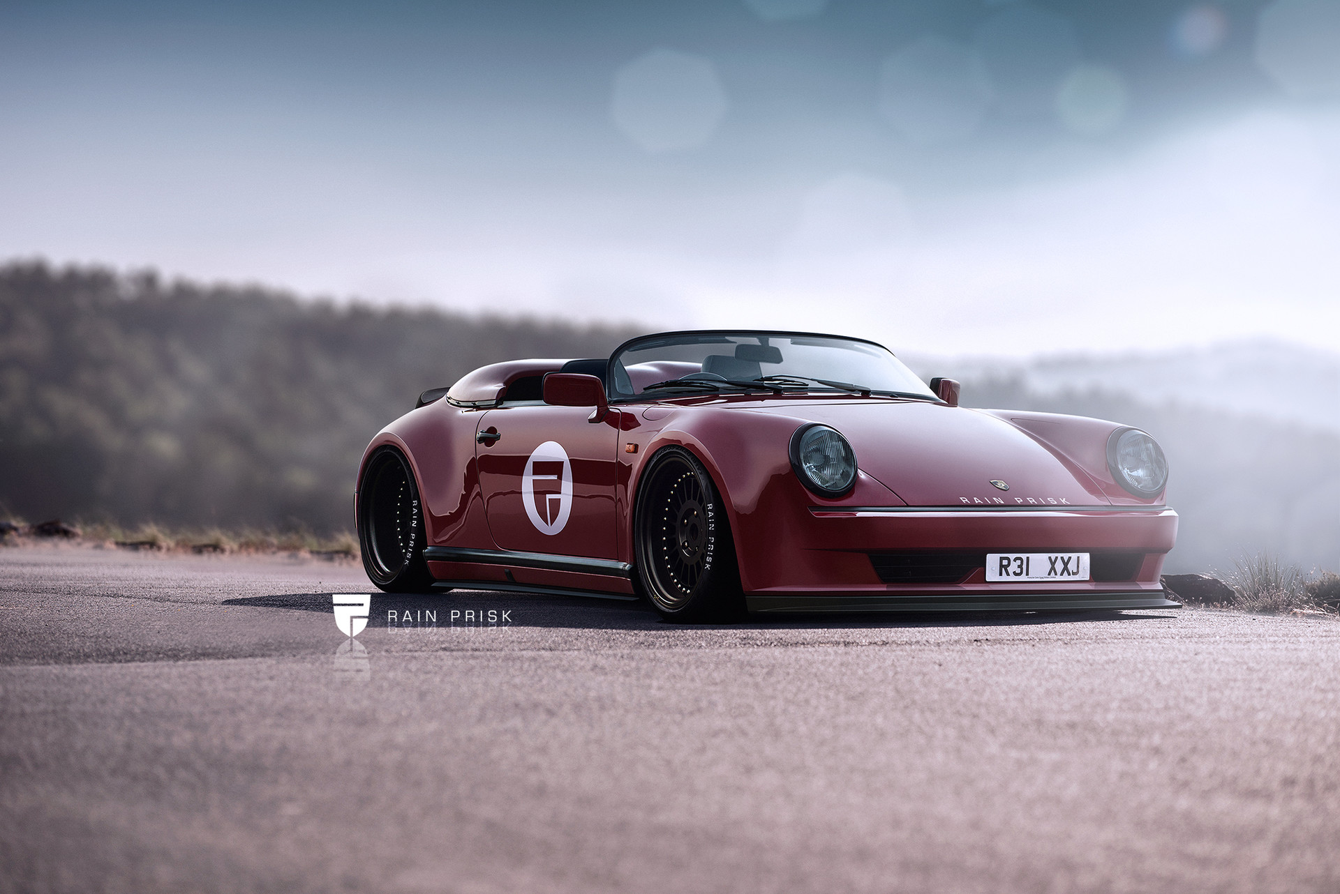 1980s Porsche 911 Speedster Widebody Makes For A Delicious Rendering Autoevolution