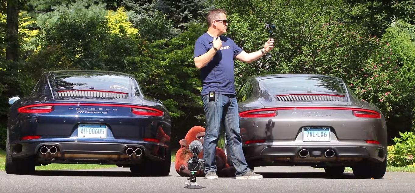 Porsche 911 Sport Exhaust Standard Exhaust Comparison Shows Secret
