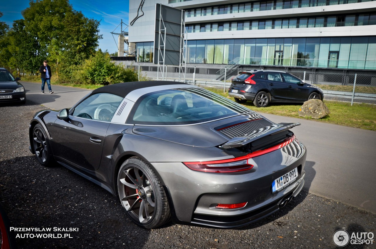 Porsche 911 Targa 4 Gts Gets Gt3 Rs Conversion In Germany