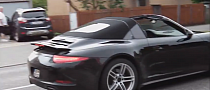 Porsche 911 Targa Spotted With the Roof Off [Video]