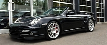 Porsche 911 Turbo Cabrio on HRE Wheels