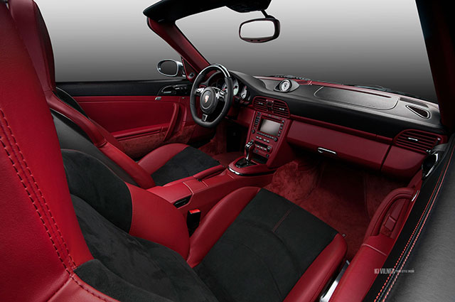 porsche 911 turbo cabriolet gets carbon fiber and alcantara interior from vilner autoevolution. Black Bedroom Furniture Sets. Home Design Ideas