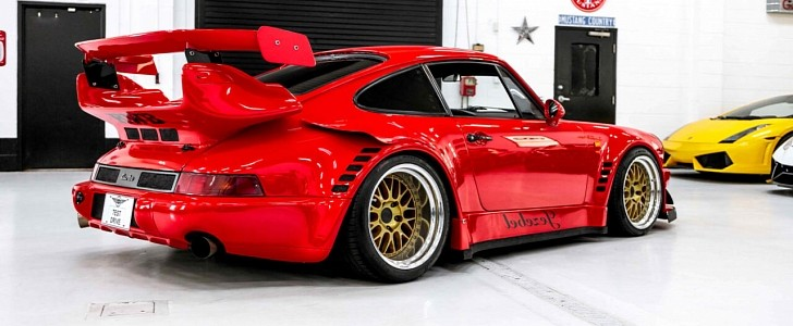 Porsche 911 Turbo 'Jezebel' is Akira Nakai's Seventh Ever RWB Conversion