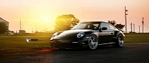 Porsche 911 Turbo on ADV.1 Wheels Drag Strip Play [Photo Gallery]