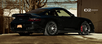 Porsche 911 Turbo Proudly Showing D2Forged Rims