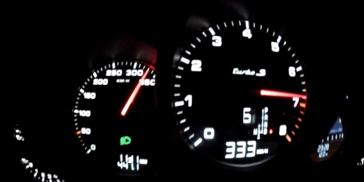 Porsche 911 Turbo S Tops Official Top Speed, Hits 333 KM/H ...