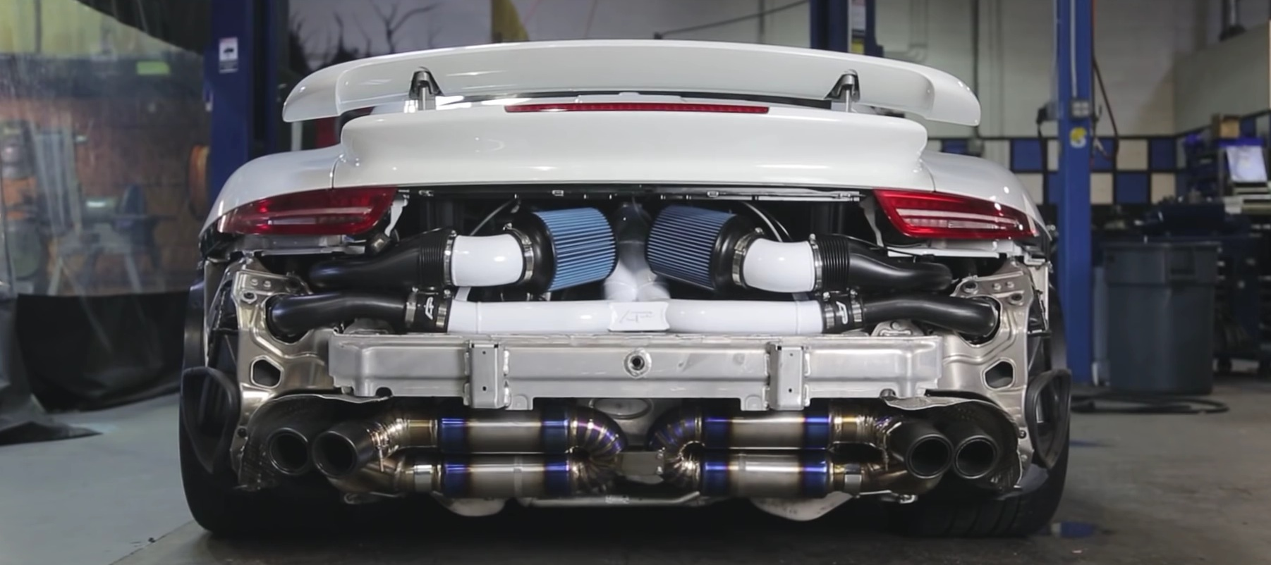 Porsche 911 Turbo Strips To Show Us A Stuning Custom