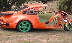 Porsche 911 Turbo Trike Is Real, Up For Grabs on eBay