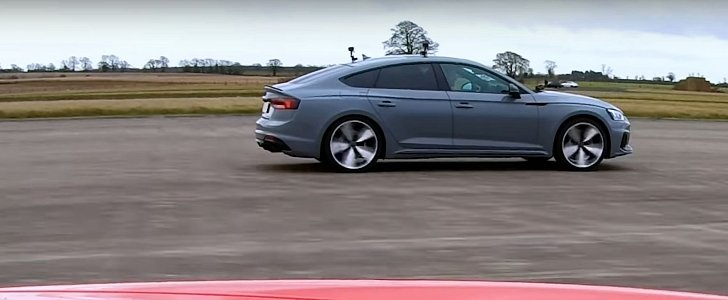 Porsche 911 vs. Audi RS5 Sportback Drag Race Is Surprisingly Close - autoevolution