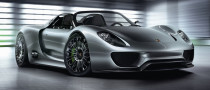 Porsche 918 Spyder, Now Available for EUR645,000