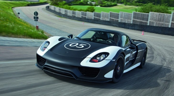 Porsche 918 Spyder Pre-Production Prototype Images Released [Photo Gallery]