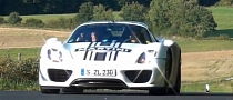 Porsche 918 Spyder Prototype Spotted Near Nurburgring [Video]
