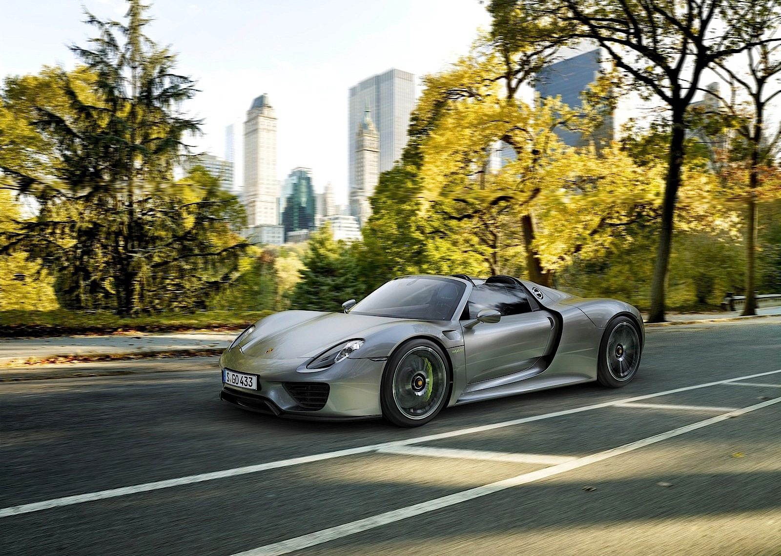 Porsche Issues Precautionary Recall Of 918 Spyder