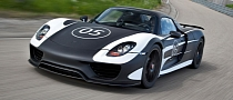 Porsche 918 Spyder to Receive Race Track Pack