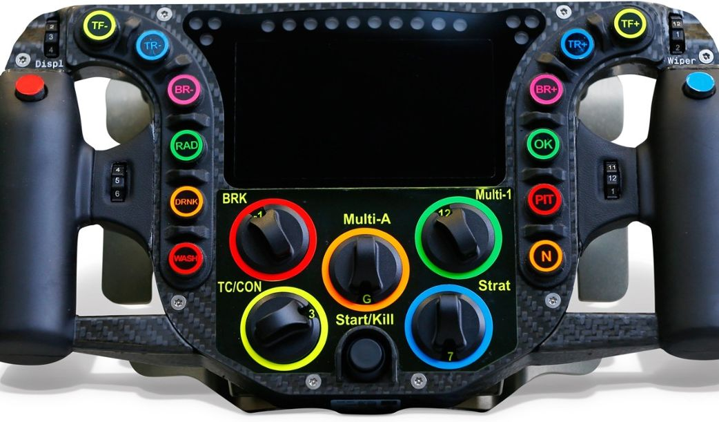 Porsche 919 Hybrid Racecar Steering Wheel Explained Here