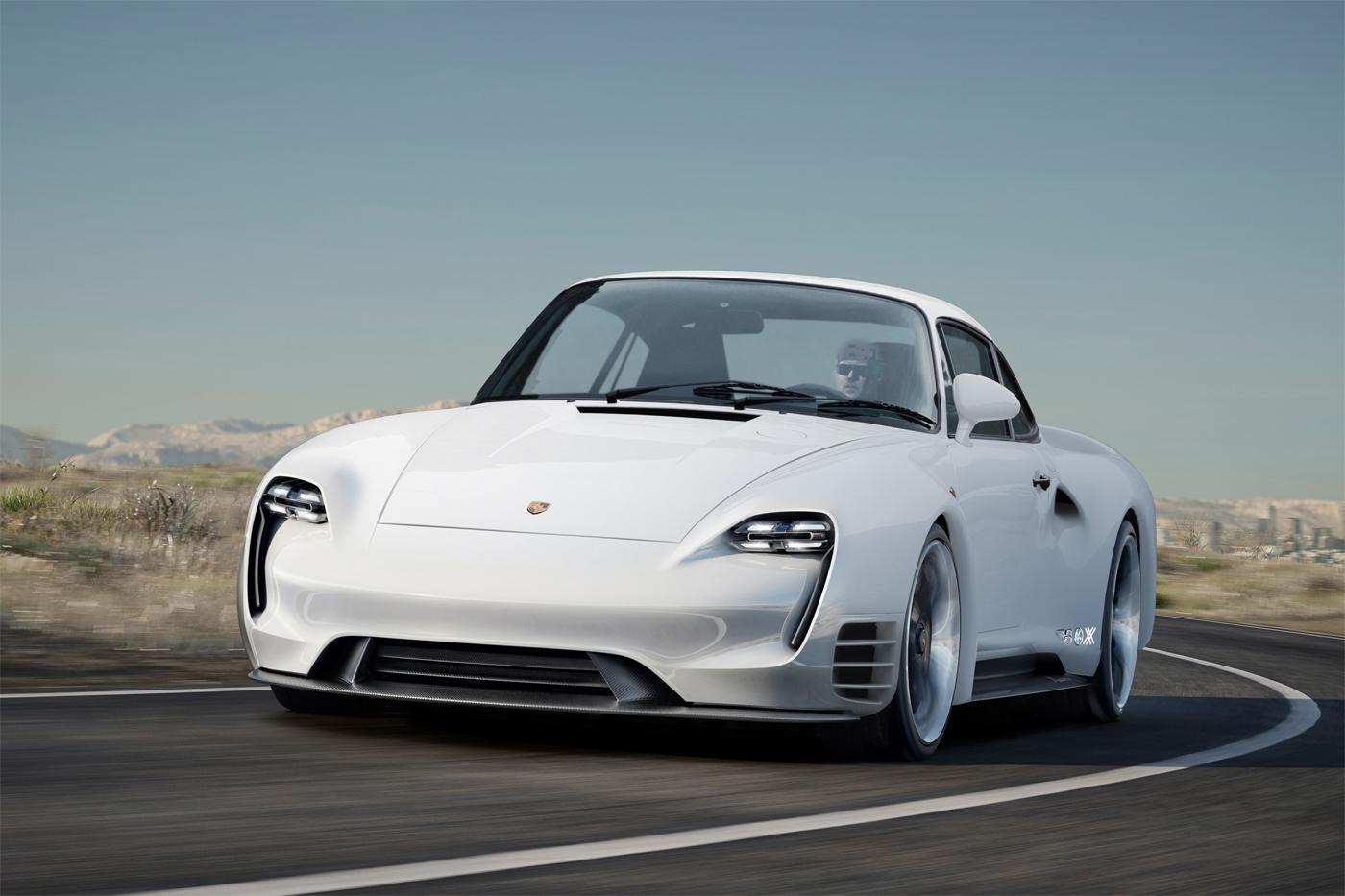 Porsche 959 Meets Mission E in Bewitching Retro-Futuristic Mashup ...
