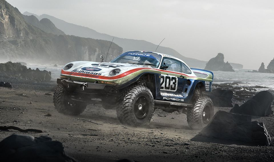Porsche 961 Paris Dakar Rendered As The 911 Rally Car Porsche Never