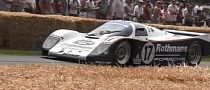 Porsche 962 Crashed at Goodwood 2013 [Video]