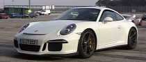 Porsche 991 GT3: Brutal Exhaust Sound [Video]