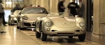 Porsche Boxster, Carrera GT, 550 in Grand Central Stration [Video]