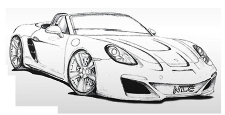 Porsche Boxster Tuning Kit Previewed by NLC