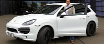 Porsche Builds 500,000th Cayenne SUV
