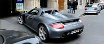 Porsche Carrera GT in Paris Car Park [Video]