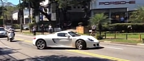 Porsche Carrera GT: Reckless City Drifting [Video]