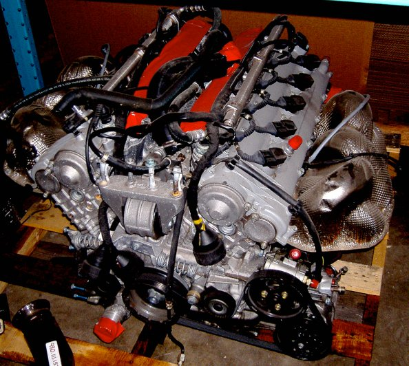 Porsche Carrera Gt V10 Engine For Sale On Ebay 29220 1