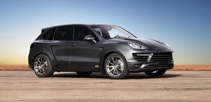 Porsche Cayenne Becomes Top Car Vantage GTR2 20/50 [Photo Gallery]