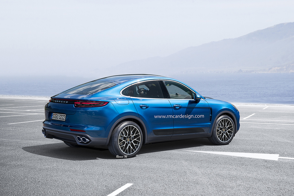 Porsche cayenne coupe rendering reminds us what 39 s wrong with this segment autoevolution