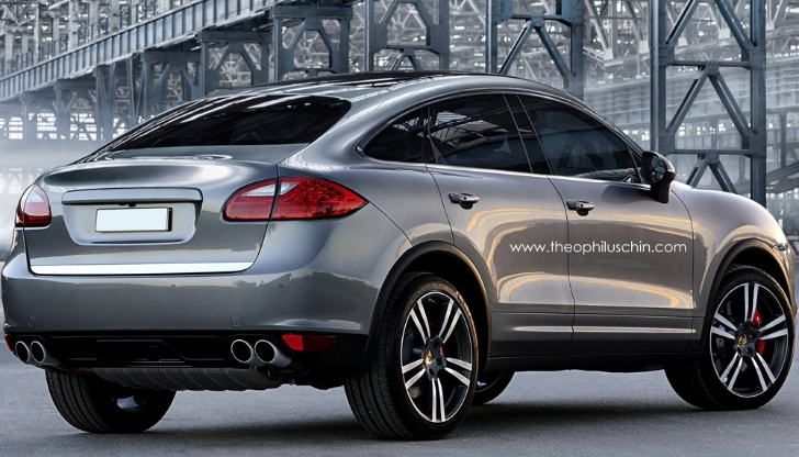Porsche Cayenne Coupe Reportedly Coming in 2018 - autoevolution