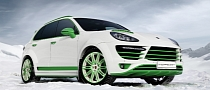 Porsche Cayenne Crazy Tuning: TopCar Green Horse! [Photo Gallery]