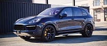 Porsche Cayenne Gets Bespoke Blue BBS Rims [Photo Gallery]