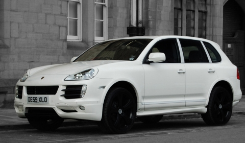 Porsche cayenne kahn super sport tiptronic english - Super sayenne ...