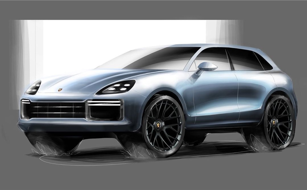 Porsche Cayenne Rendering Shows Taycan Styling Cues For The Ultimate Sporty Suv Autoevolution