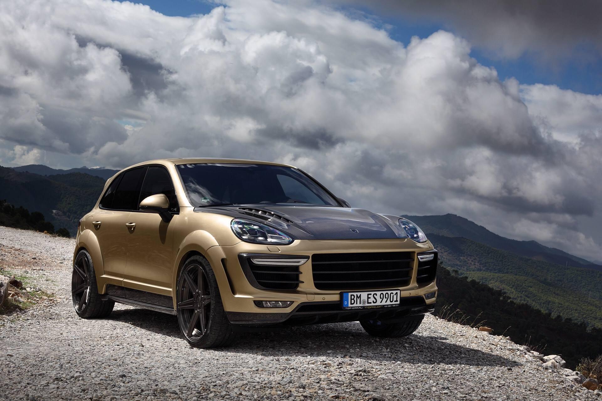 Porsche Cayenne Turbo Gets Topcar Vantage Treatment In