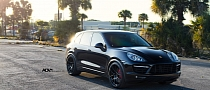 Porsche Cayenne Turbo Gifted with ADV.1 Wheels [Photo Gallery]