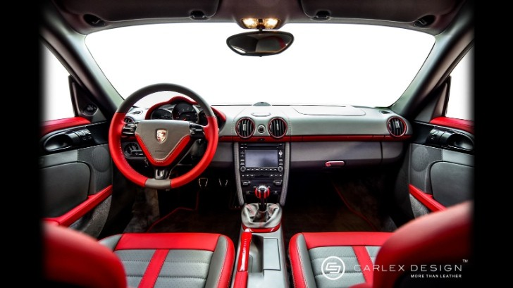 Porsche Cayman Gets Custom Interior by Carlex Design [Photo Gallery]