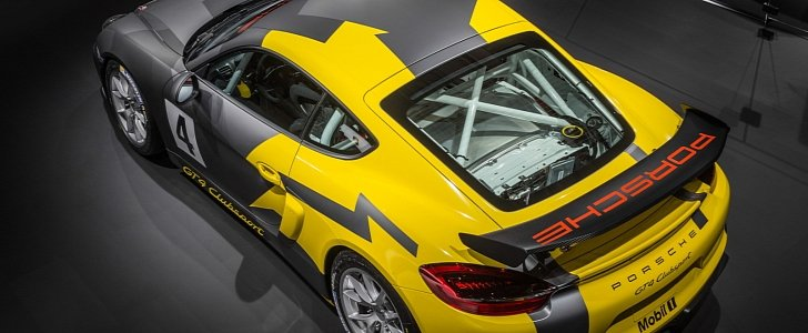 porsche cayman gt4 clubsport racecar shows pdk fetishy stripped out interior in la autoevolution. Black Bedroom Furniture Sets. Home Design Ideas