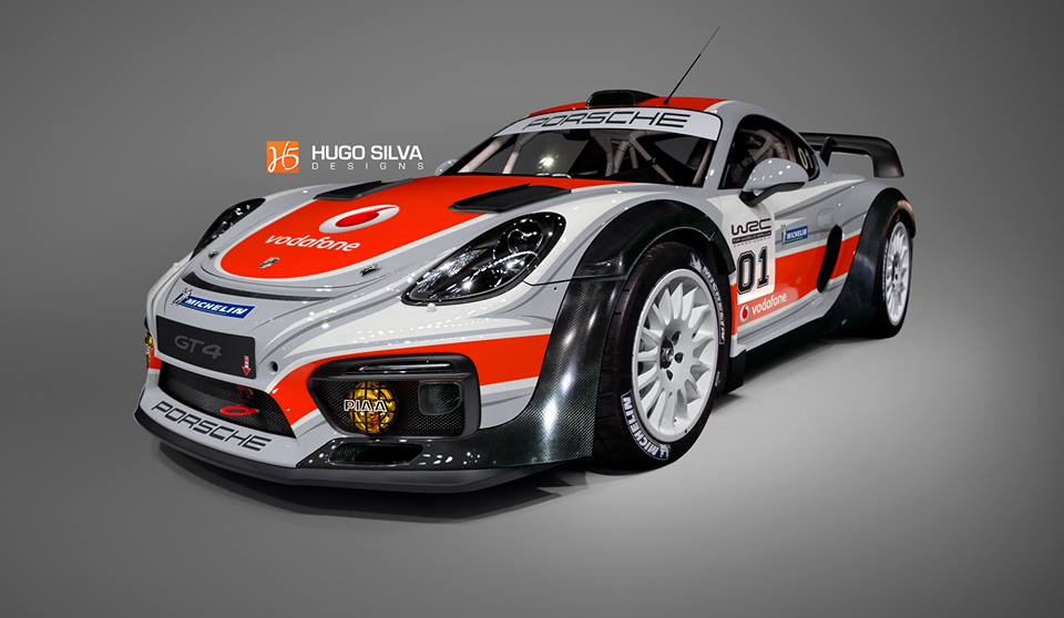 Porsche Cayman Gt4 Rally Car Rendered As The Racecar We Need Right