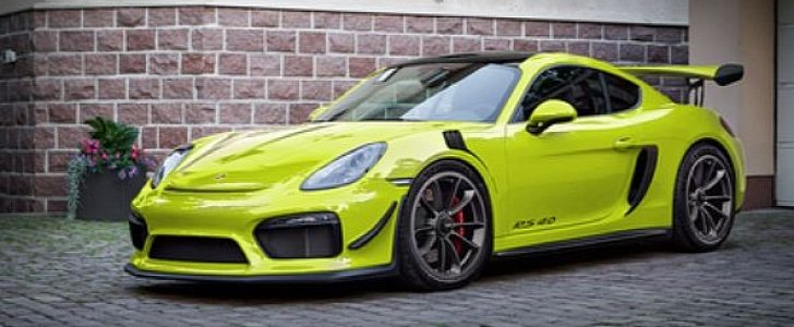 Forbidden Porsche Cayman Gt4 Rs Rendered By Cayman Gt4
