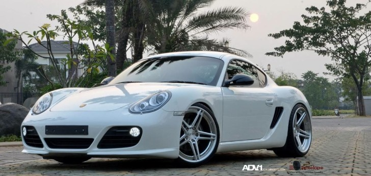 Porsche Cayman on ADV.1 Wheels [Photo Gallery]