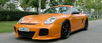 Porsche Cayman S Duke Dynamics Presented